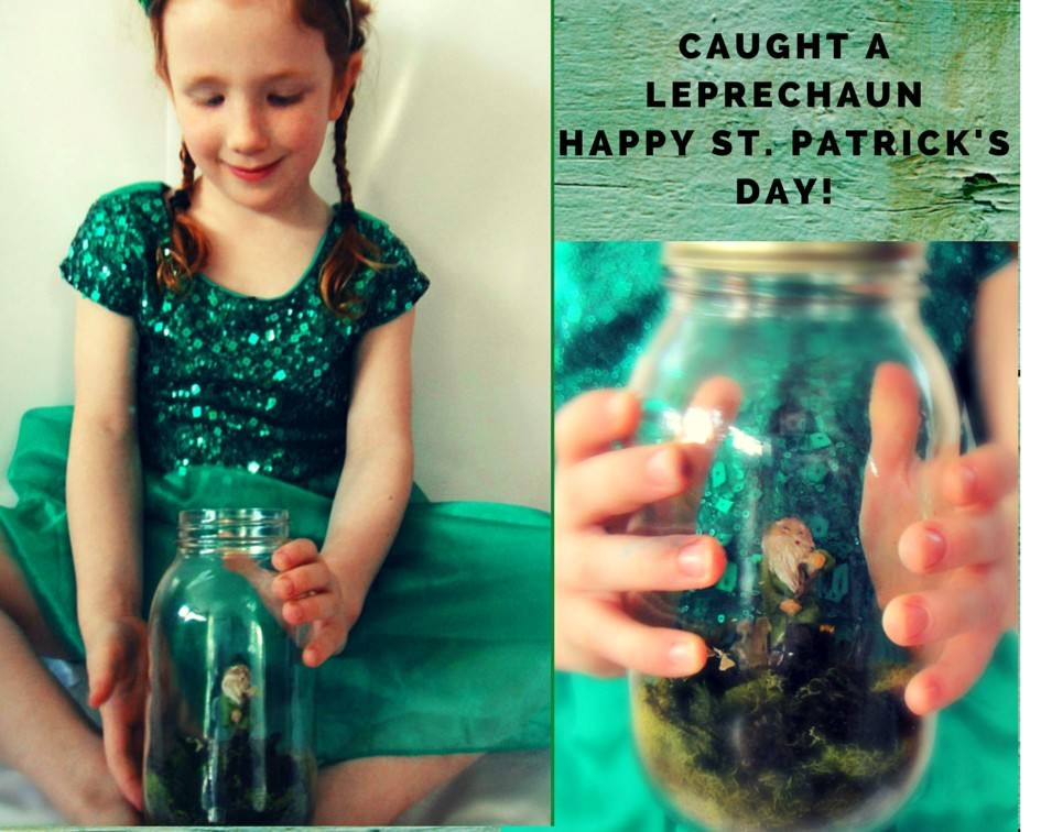 FUN WITH LEPRECHAUNS: OUR ST. PATRICK ' S DAY