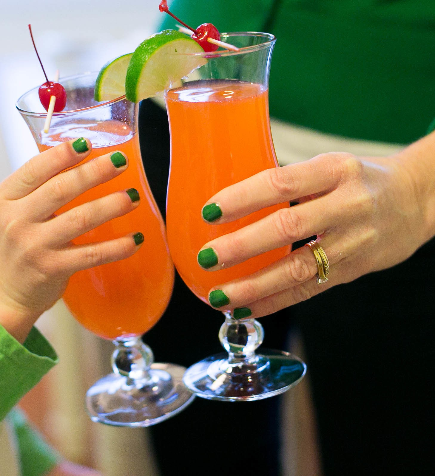 Hurricane Mocktails For A Kid Friendly Mardi Gras