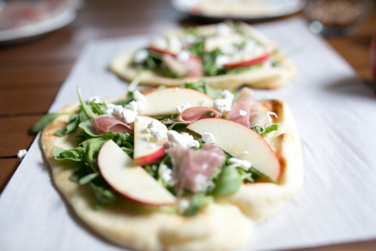 apple prosciutto appetizer